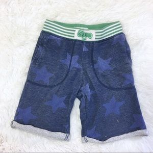 Mini Boden Blue Star Shorts 6Y